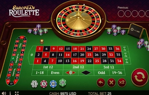 roulette game variants European