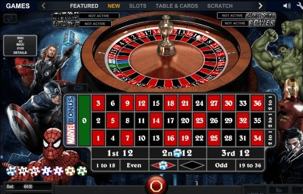 roulette game variants Marvel